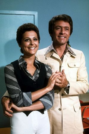 Brenda Benet  and Bill Bixby Having A Laugh