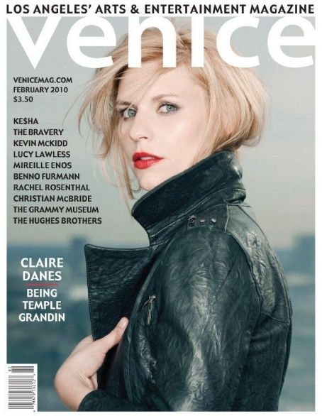 Claire Danes - Venice Magazine Cover [United States] (February 2010)
