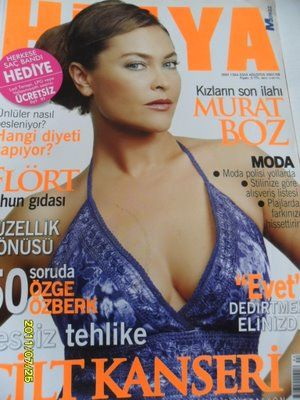Hülya Avsar - Hülya Magazine Cover [Turkey] (August 2007)