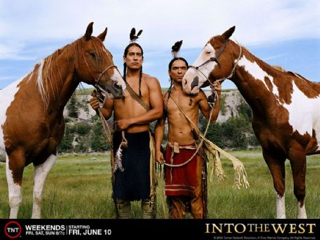 Zahn McClarnon Into the West wallpaper - 2005