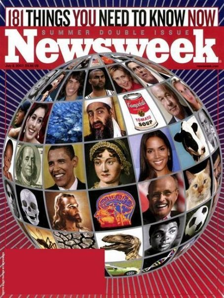 Barack Obama - Newsweek Magazine [United States] (9 July 2007)