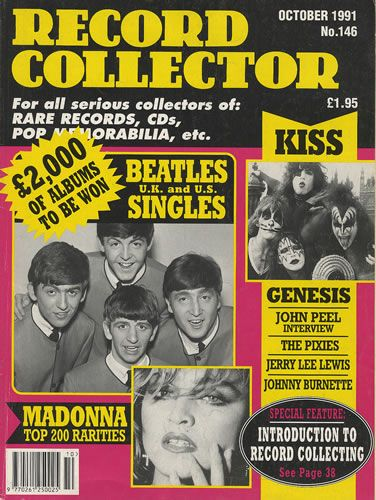 Ringo Starr - Record Collector Magazine [United Kingdom] (October 1991)