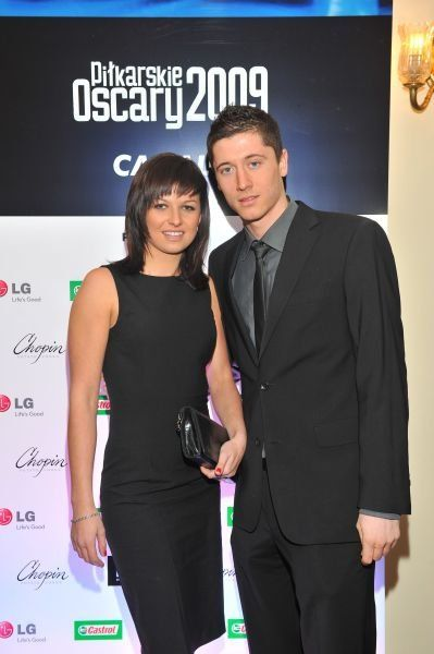Robert Lewandowski and Anna Stachurska - Robert Lewandowski