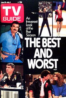 Tom Selleck - TV Guide Magazine [United States] (25 June 1988)