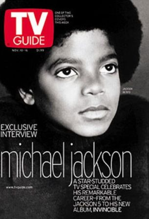 Michael Jackson - TV Guide Magazine [United States] (10 November 2001)