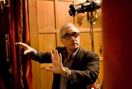 "Academy Award®-winning director Martin Scorsese on the set of the thriller ""Shutter Island."" Photo credit: Andrew Cooper. Copyright © 2010 by PARAMOUNT PICTURES. All Rights Reserved."
