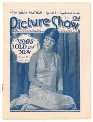 Clara Bow - Picture Show Magazine [United Kingdom] (January 1927)