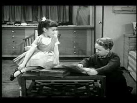 Rusty Hamer Rusty with Linda (Angela Cartwright)