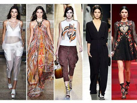Kendall Jenner Rules the Runway at Milan Fashion Week