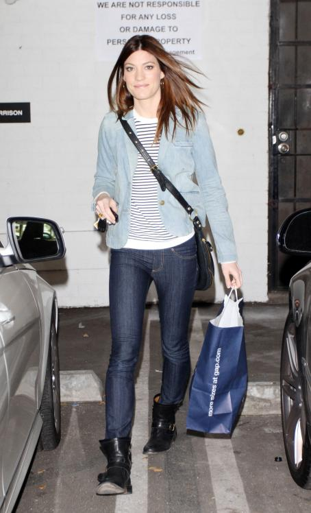 Jennifer Carpenter - Shopping In Hollywood Feb 24 2010