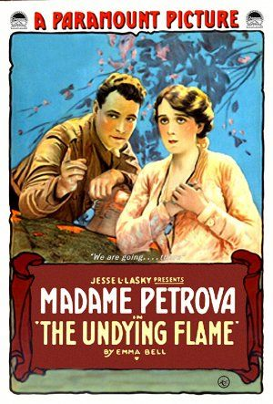 The Undying Flame (1917) Poster