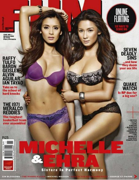 Michelle Madrigal  FHM Philippines November 2010