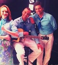 Mark Salling - Jayma, John & Mark