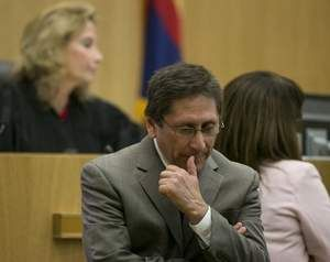 Juan Martinez Prosecutor  Pondering Something In Court