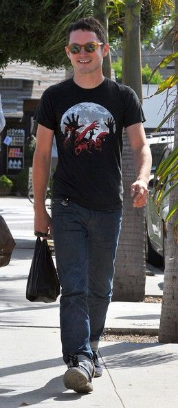 Elijah Wood in Venice CA September 3, 2011