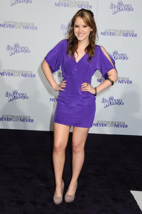 Taylor Spreitler - 'Justin Bieber: Never Say Never' Los Angeles Premiere at Nokia Theatre L.A. Live on February 8, 2011