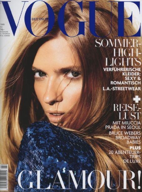 Julia Stegner - Vogue Magazine [Germany] (July 2009)