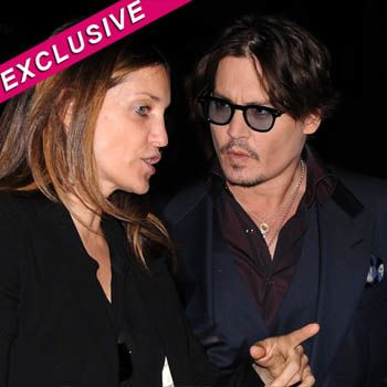 Robin Baum  and Johnny Depp 3