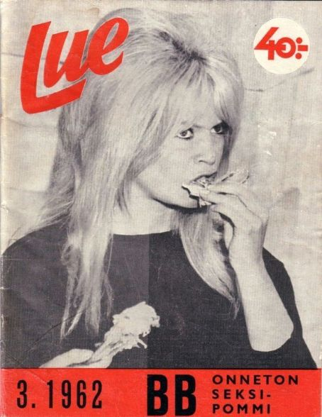 Brigitte Bardot - OTHER Magazine [Finland] (March 1962)