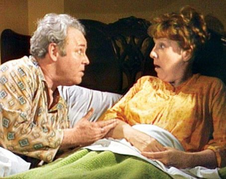 Carroll O'Connor and Jean Stapleton
