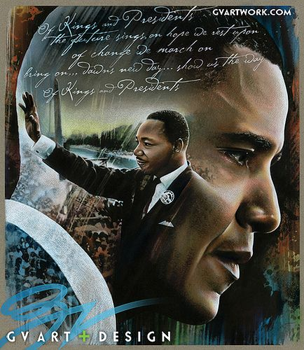 Martin Luther King Jr./ Obama