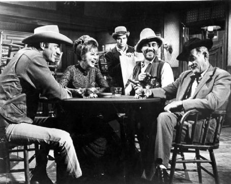 Milburn Stone  on Gunsmoke