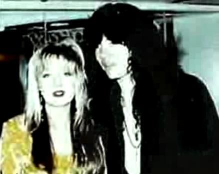 Emily Pember  and Tom Keifer