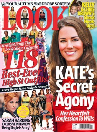 Kate Middleton - Look Magazine Cover [United Kingdom] (2 October 2011)