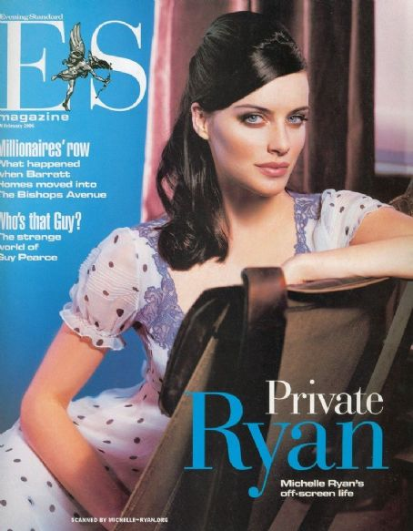Michelle Ryan - Evening Standard Magazine Cover [United Kingdom] (10 February 2006)