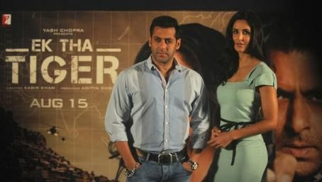 Katrina Kaif - Salman Khan & KatrinaKaif  at Ek Tha Tiger Mashallah Song Launch 2012