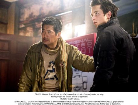 Goku Master Roshi (Chow Yun-Fat) takes  (Justin Chatwin) under his wing, as they begin the search for the Dragonballs. Photo credit: Martin Gavica.  ©2009 Twentieth Century Fox Film Corporation. All rights reserved.