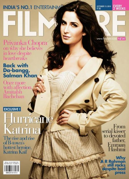 Katrina Kaif - Filmfare Magazine [India] (13 October 2010)