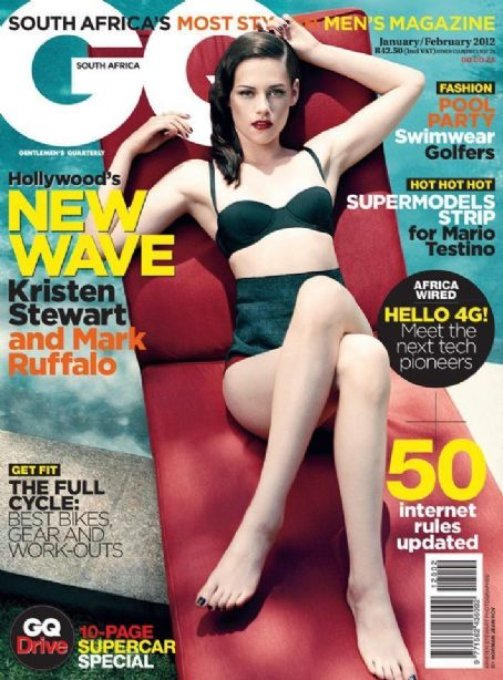 Kristen Stewart - GQ Magazine Cover [South Africa] (January 2012)