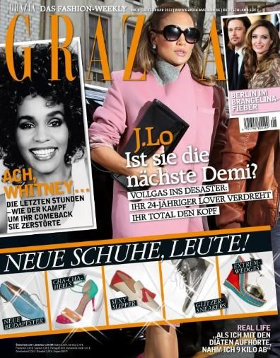 Jennifer Lopez - Grazia Magazine Cover [Germany] (16 February 2012)