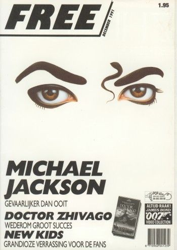 Michael Jackson - Free Magazine [Netherlands] (December 1991)