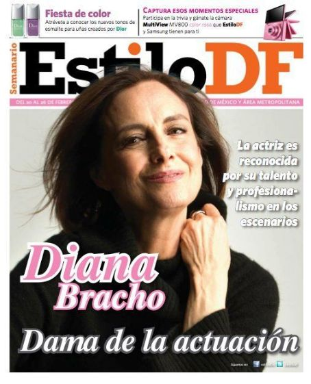 Diana Bracho - Estilo Df Magazine Cover [Mexico] (20 February 2012)