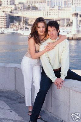 The Bold and the Beautiful Ronn Moss and Hunter Tylo