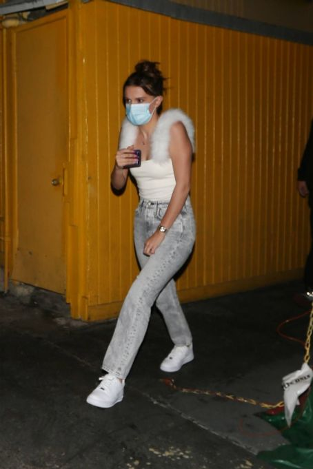 Millie Bobby Brown – Wears a face mask in West Hollywood