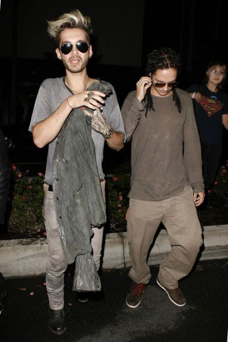Bill Kaulitz - Bill and Tom Kaulitz at Bootsy Bellows Nightclub (August 14)