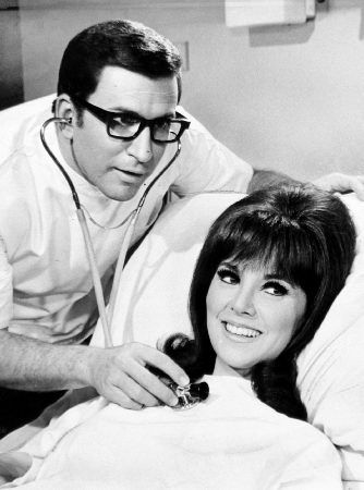 Ted Bessell Ted with Marlo Thomas in That Girl