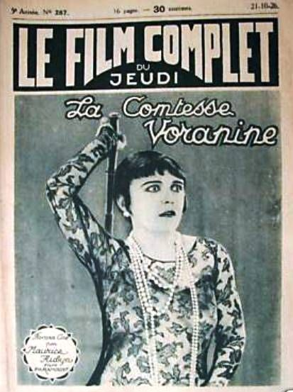 Pola Negri - Le Film Complet Magazine [France] (October 1926)