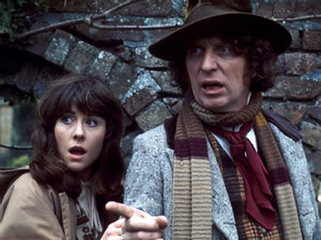 Elisabeth Sladen Tom Baker as Fourth Doctor and  as Sarah Jane Smith in Doctor Who (1974-1981)