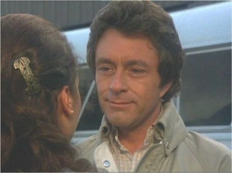 Brenda Benet  (back turned to camera) and Bill Bixby in an episode of