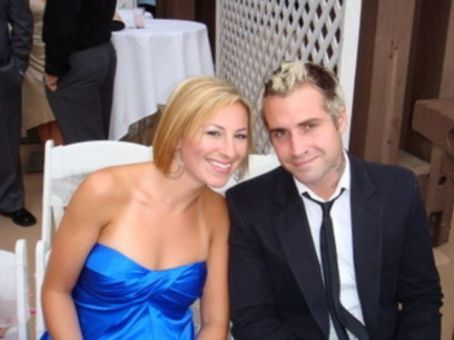 Lacey Franklin and Johnny Christ