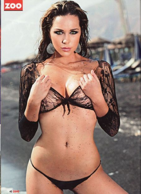 Emily Scott  Zoo Magazine March 2009 Pictorial Photo - United Kingdom