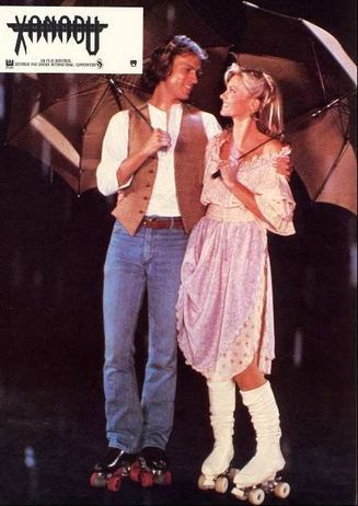 Michael Beck and Olivia Newton-John in Xanadu (1980)