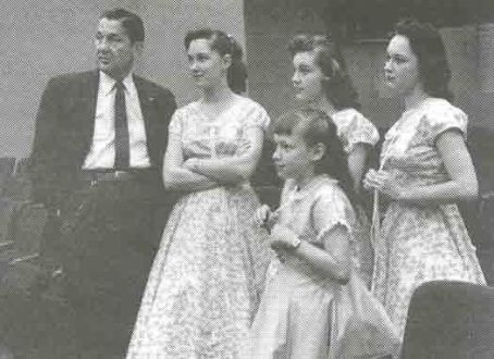 The Lennon Sisters Lawrence Welk &  1955