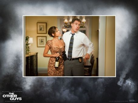 Eva Mendes and Will Ferrell - The Other Guys Wallpaper