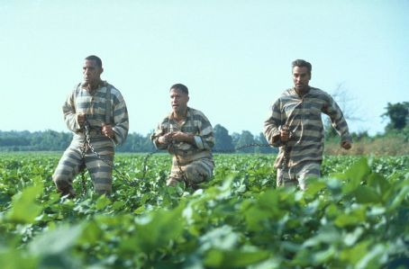 Tim Blake Nelson John Turturro,  and George Clooney in Touchstone Pictures'/Universal Pictures' drama O Brother, Where Art Thou - 2000
