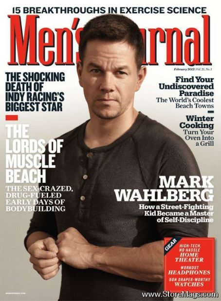 Mark Wahlberg - Men's Journal Magazine Cover [United States] (February 2012)